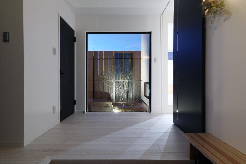 one story house  パッシブデザインの平屋の画像